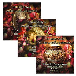 Ancient Power of Sanskrit Mantra & Ceremony (2nd Ed.) - All Three Audio Companion Sets