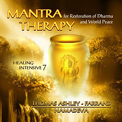 Mantra Therapy for Restoration of Dharma and World Peace