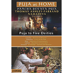 Puja at Home (Two DVDs)
