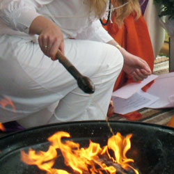 Fire Ceremony or Longer Puja